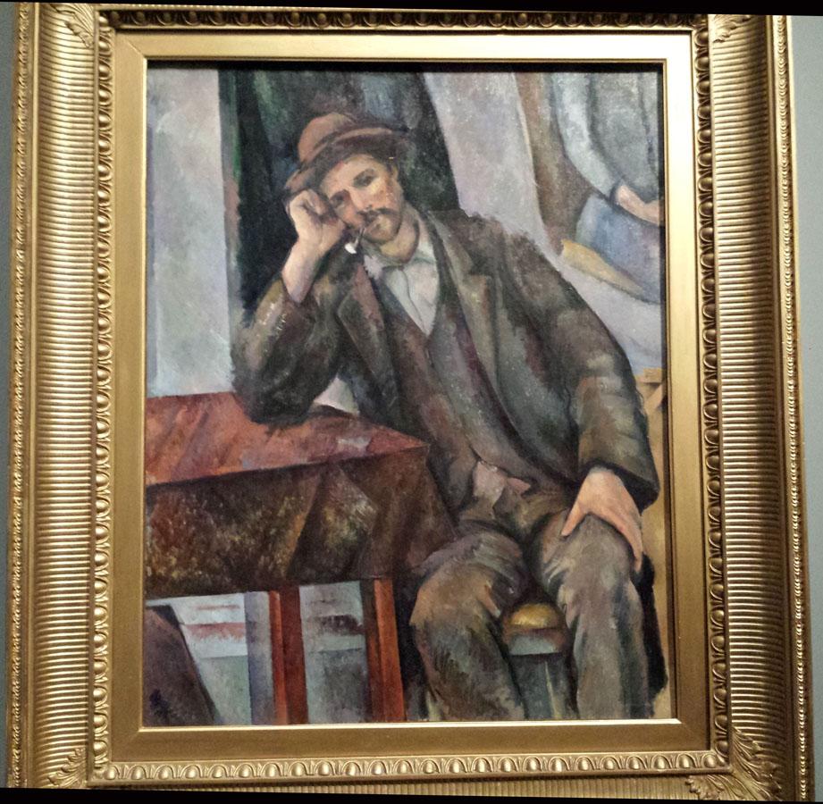 L homme a la pipe Cezanne