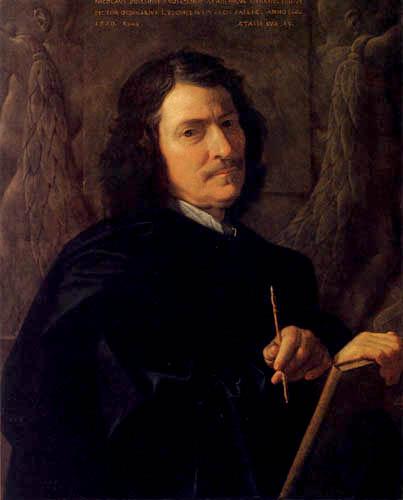 Poussin-Autoportrait