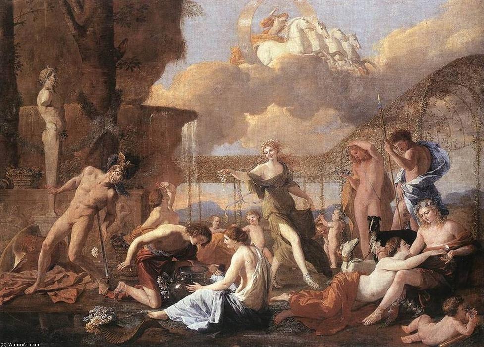 Nicolas Poussin, L'empire de Flore, 1630, Dresde, Gemäldegalerie