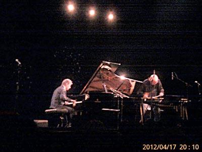 Chick Corea-Gary Burton à Pleyel 2012