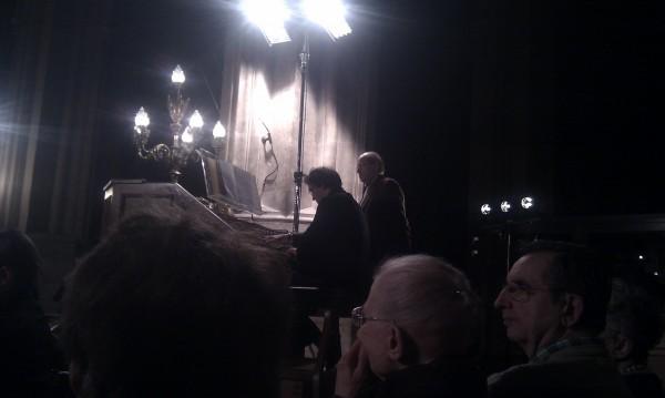 Thierry Escaïch à la console de l'orgue de saint-Eustache